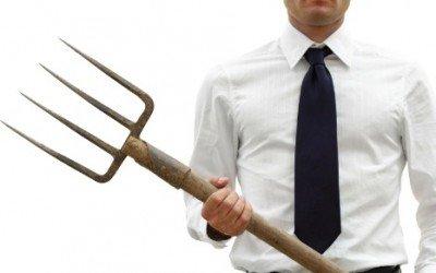 Image result for pitchfork protest