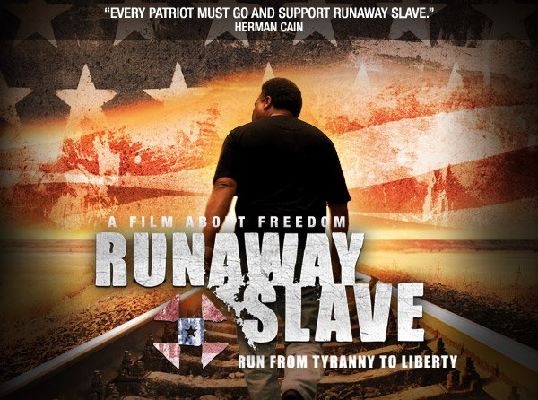 Runaway Slave Movie Banner