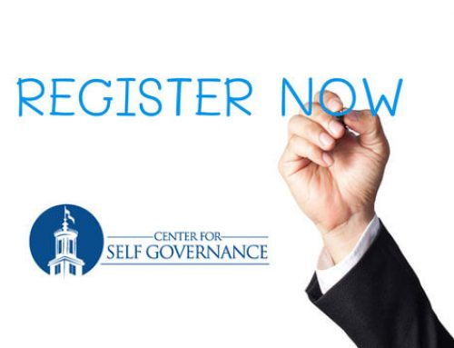 July Center for Self Governance Class Schedule Released