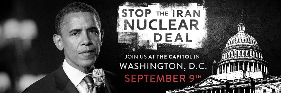 Iran nuke deal protest
