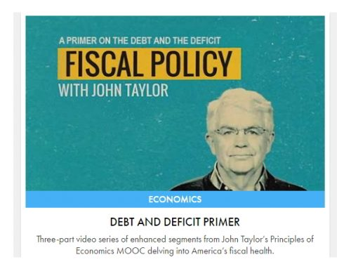 Fiscal Policy – A Primer on Debt and Deficit