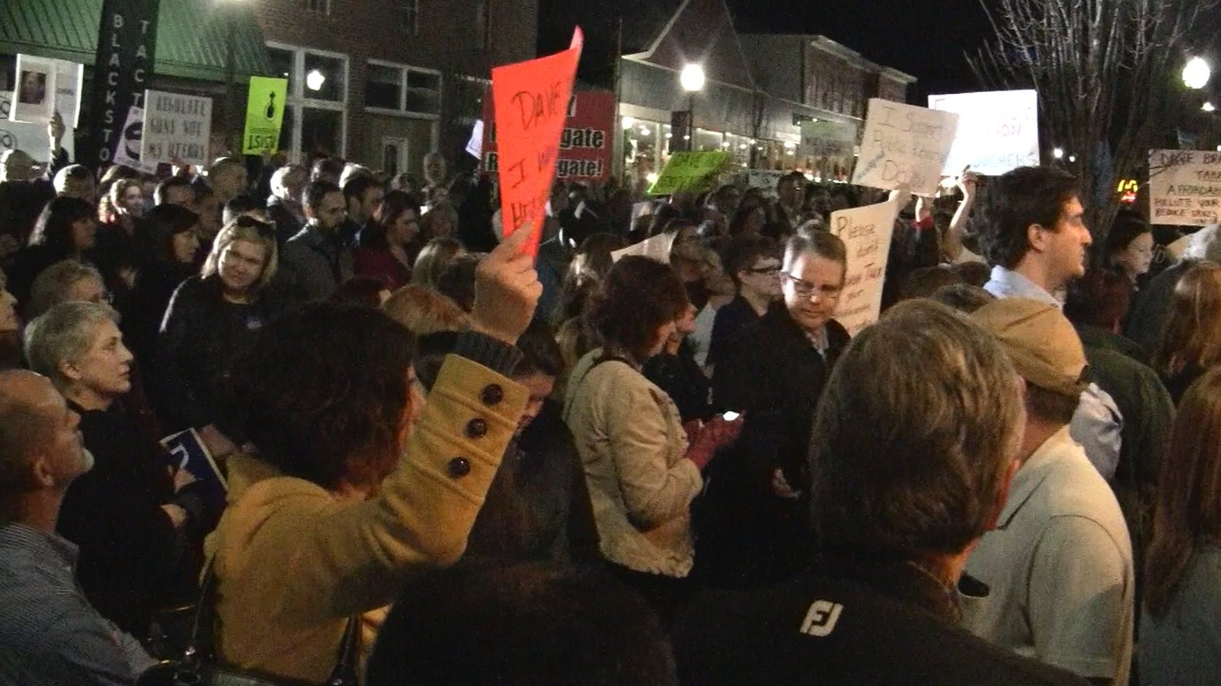 Comcast support rtp - Unruly Disrespectful Leftist Protest Mob Descends On Blackstone Town Hall With Rep Dave Brat