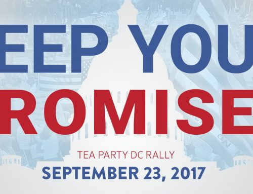 Reminder for Tomorrow: Keep Your Promises Tea Party rally in DC!