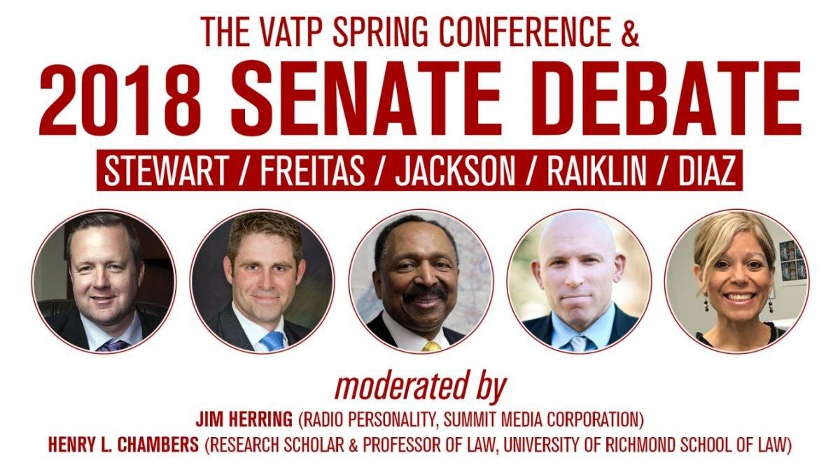 2018 Senate Debate Banner