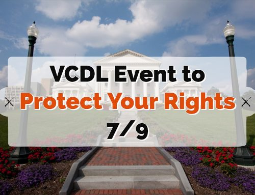Reminder: Rally for Your Rights TODAY (Tuesday)