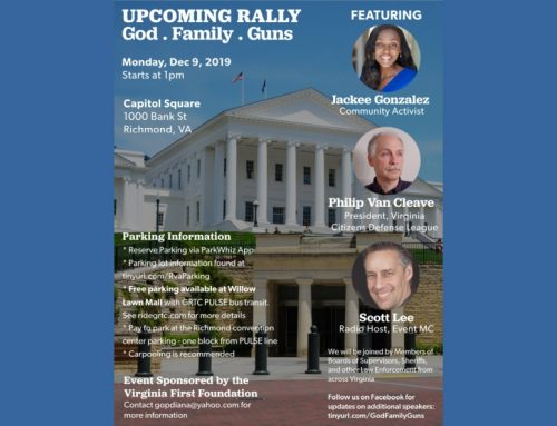 Are you coming to the rally in Richmond on Monday?