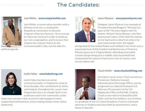 Attorney General Candidate Forum Video Now Available