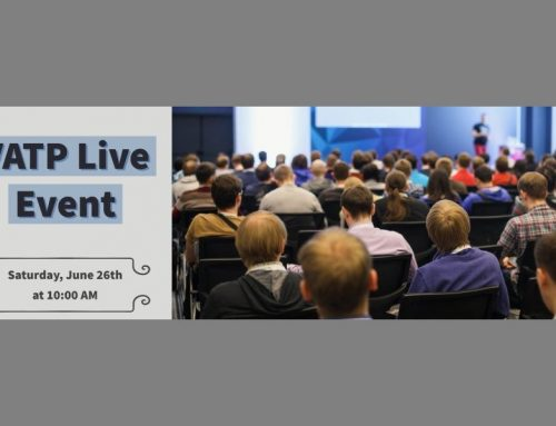 One week until our live event!